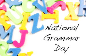 Time to Celebrate Grammar!